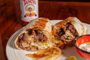 Pork Burrito on Tacos San Miguel menu
