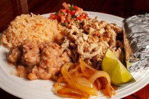 Tacos San Miguel Chicken Plate