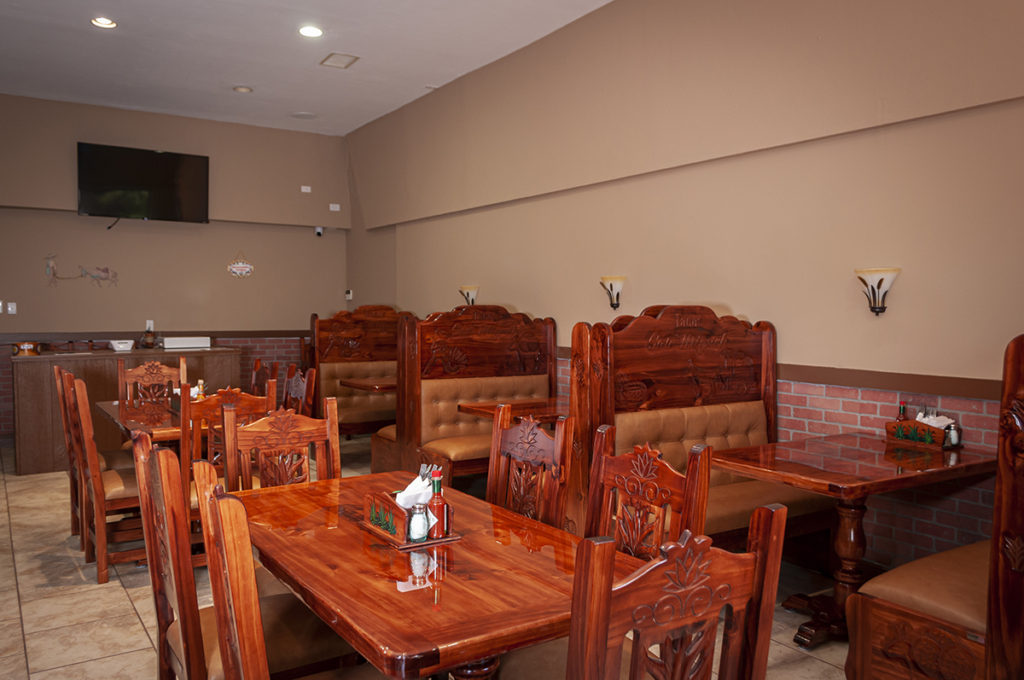 Dining room at Tacos San Miguel
