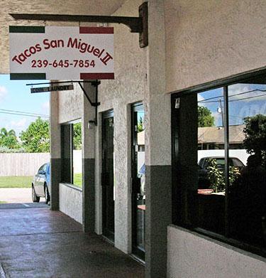 Tacos San Miguel II restaurant location